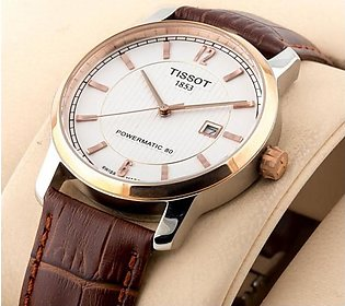 Tissot Classic 1853 Stylish White Dial Watch in Pakistan