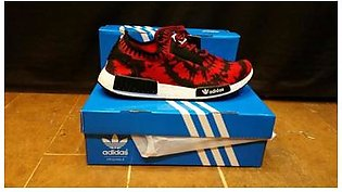 Adidas NMD Red Black Sports Shoes in Pakistan