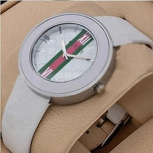 Gucci Strap White Watch in Pakistan