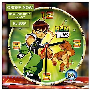 Ben 10 Stylish Wall Clock in Pakistan