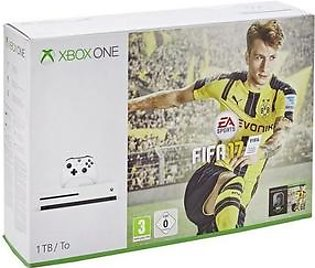 Microsoft Xbox One S 1TB FIFA 17 Bundle with Charging Pod & Vertical Stand in Pakistan