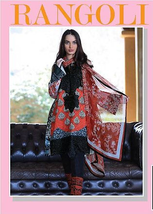 RANGOLI Embroidered Lawn Suit MSR18 03 in Pakistan