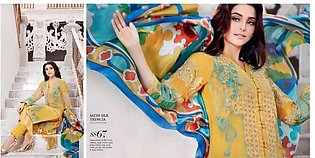 GUL AHMED Embroidered Lawn Suit G SS67 in Pakistan