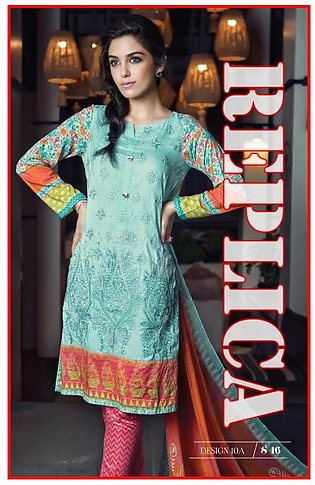 Maria B Embroidered Lawn Suit M6 10A RP in Pakistan