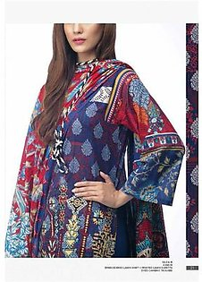 AL KARAM Embroidered Lawn Suit AK18 D18R in Pakistan
