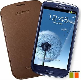 Mobile Accessories Galaxy S3 Leather Pouch in Pakistan