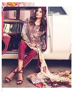 ROUGE BY RANG RASIYA Embroidered Lawn Suit ROUG 1B in Pakistan