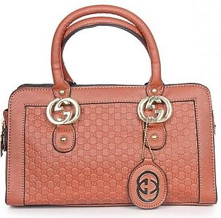 GUCCI GG Embossed Leather Mini Bag - Brown Hand Bag in Pakistan