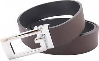 Gucci Genuine Leather Belt Brown Silver (AAA) G-21 MY in Pakistan