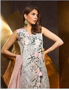 MAHGUL BY AL ZOHAIB Luxury Embroidered Lawn Suit MGLE18 08 in Pakistan