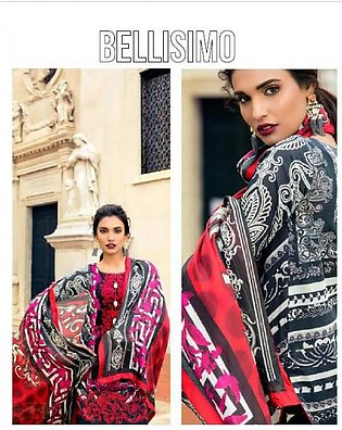 Zainab Chottani Luxury Embroidered Lawn Suit ZCL17 3B in Pakistan
