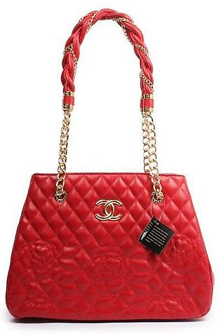 CHANEL Quilted Bowling Red HandBag in Pakistan