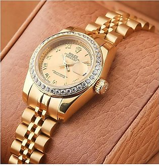 Rolex Oyster Perpetual Date-Just rl-018-g Ladies Watch in Pakistan