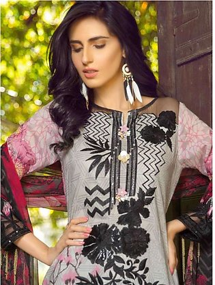 MARJAAN BY SIFONA Digital Printed Embroidered Lawn Suit MJDL18 08 in Pakistan