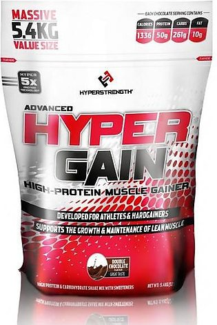 Hyper Gain High-Protein Muscle Gainer 12 LBS Supplement in Pakistan