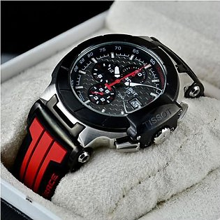 TISSOT T-RACE MOTO GP CHRONOGRAPH BLACK RED WATCH in Pakistan