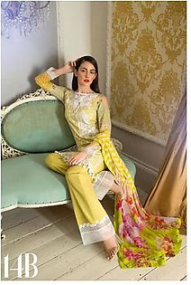Sobia Nazir Embroidered Lawn Suit SNL17 14B in Pakistan