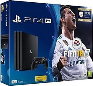 GameStop PS4 FIFA 18 Pro 1 TB with FIFA 18 Ultimate Team Icons and Rare Player Pack in Pakistan