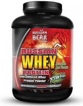 Russian Bear Whey Protein 6 LBS Supplement in Pakistan
