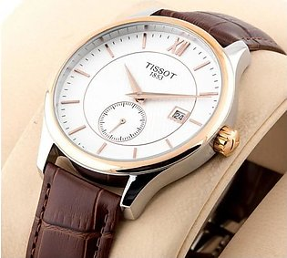 Tissot 1853 Classic Stylish White Dial Silver Case Man Watch in Pakistan