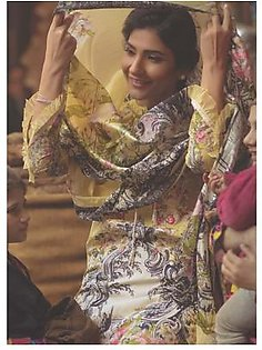 FIRDOUS TEXTILES Luxury Embroidered Lawn Suit FDLW18 05 in Pakistan