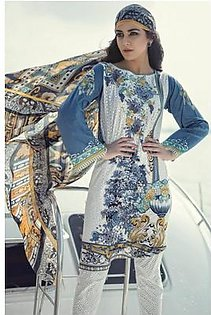 Maria B Embroidered Lawn Suit M16 15A in Pakistan
