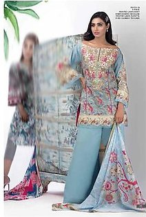 AL KARAM Embroidered Lawn Suit AK18 F20B in Pakistan