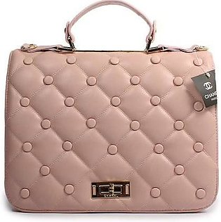 CHANEL Vintage Quilted Tote Pink Handbag in Pakistan