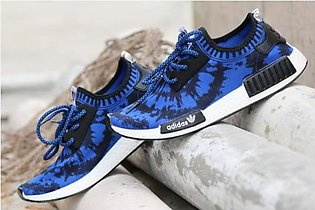 New Stylish Design Blue And Black Sports Shoes in Pakistan