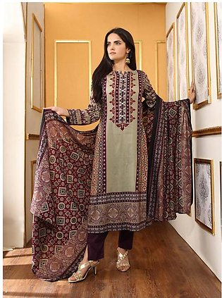 Anum Printed Lawn Suit By Al-Zohaib AM2 1B in Pakistan