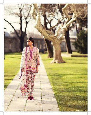 MINA HASAN BY SHARIQ Embroidered Lawn Suit MINA18 10A in Pakistan