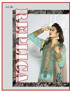Asim JOFA Embroidered Lawn Suit AJL17 8B RP in Pakistan