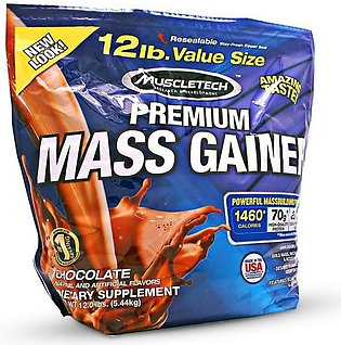 MuscleTech 100% Premium Mass Gainer 12 Lbs Supplements in Pakistan