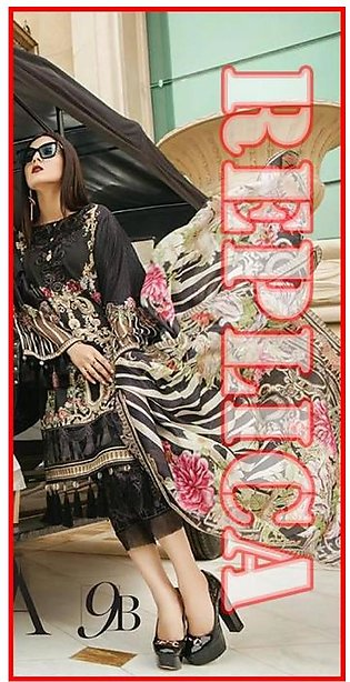 MARIA.B Embroidered Lawn Suit MB18 9B RP in Pakistan