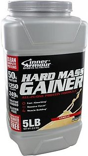 Inner Armour Blue Whey Protein Concentrate Hard Mass Gainer Vanilla 5 lbs in Pakistan