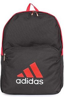 ADIDAS Classic Backpack - 6888 - Black / Red in Pakistan