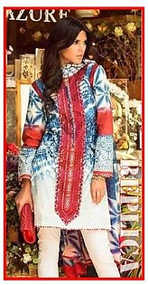 Zara Shahjahan Embroidered Suit RZS D11 in Pakistan