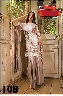 SOBIA NAZIR Embroidered Lawn Suit SNL18 10B in Pakistan