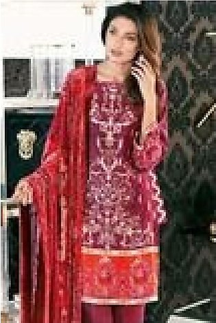 Gul Ahmed Embroidered WITH SILK VELVET DUPATTA GVL 47 in Pakistan