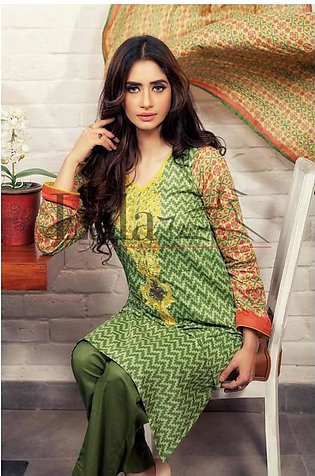 Lala Textiles Embroidered Lawn Suit LC2 6C in Pakistan