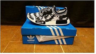 Adidas NMD White Black Sports Shoes in Pakistan