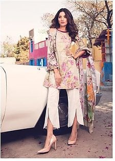 ROUGE BY RANG RASIYA Embroidered Lawn Suit ROUG 3A in Pakistan