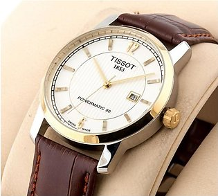 Tissot 1853 Classic Stylish White Dial Man Watch in Pakistan