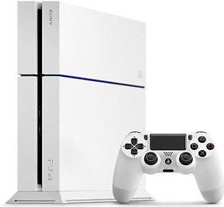 Sony PlayStation 4 Console 500 GB Edition Slim Jet White - Reg 2 Japanese in Pakistan