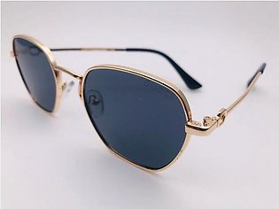 Gucci Grey Glass And Gold Frame Sunglasses 54324 in Pakistan
