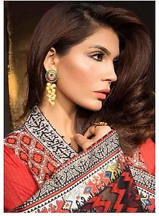 MAHGUL BY AL ZOHAIB Luxury Embroidered Lawn Suit MGLE18 3A in Pakistan
