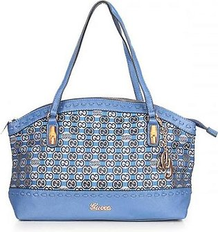 GUCCI Laidback Crafty GG Canvas Bag - Blue Hand Bag in Pakistan