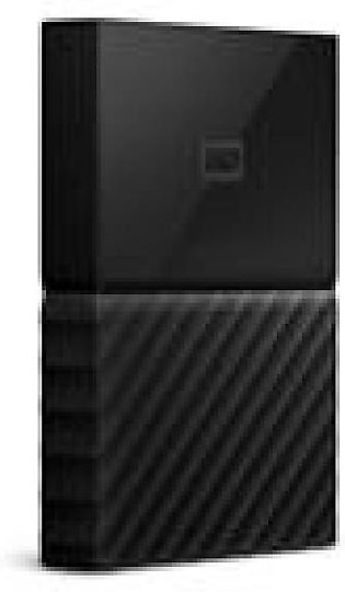 WD - My Passport 1TB External USB 3.0 Portable Hard Drive - Black (WDBYNN0010...