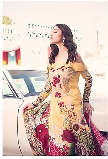 ROUGE BY RANG RASIYA Embroidered Lawn Suit ROUG 7B in Pakistan