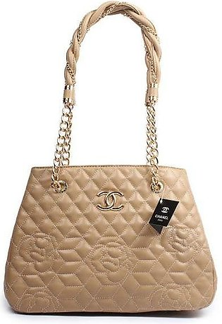 CHANEL Quilted Bowling Apricot Handbag in Pakistan
